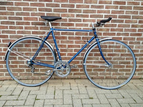 Gerestaureerde fiets